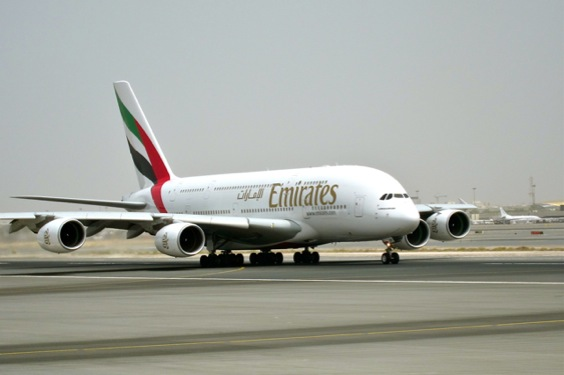 Emirates A380 A6-EDP