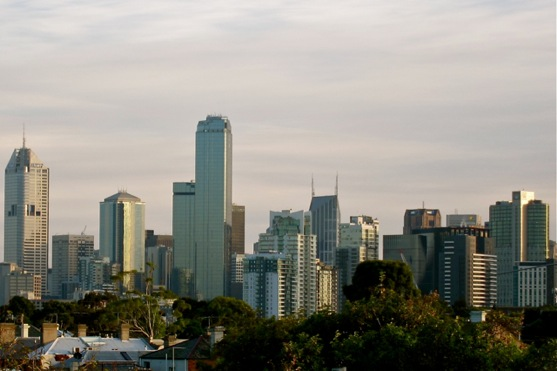 Melb Skyline Morning
