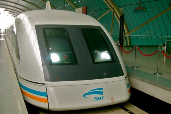 maglev-train shanghai