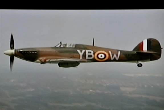 spitfire over buck-house